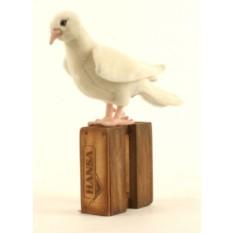 Мягкая игрушка Hansa Белый голубь