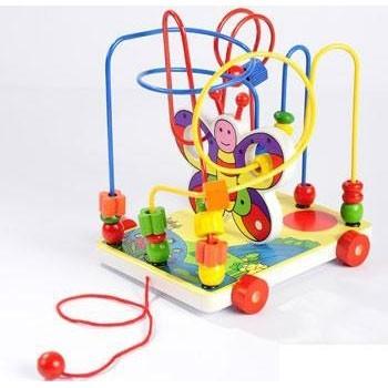 Детская игрушка лабиринт Каталка Бабочка