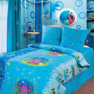 Детское постельное белье «Лунтик-Подводный мир»