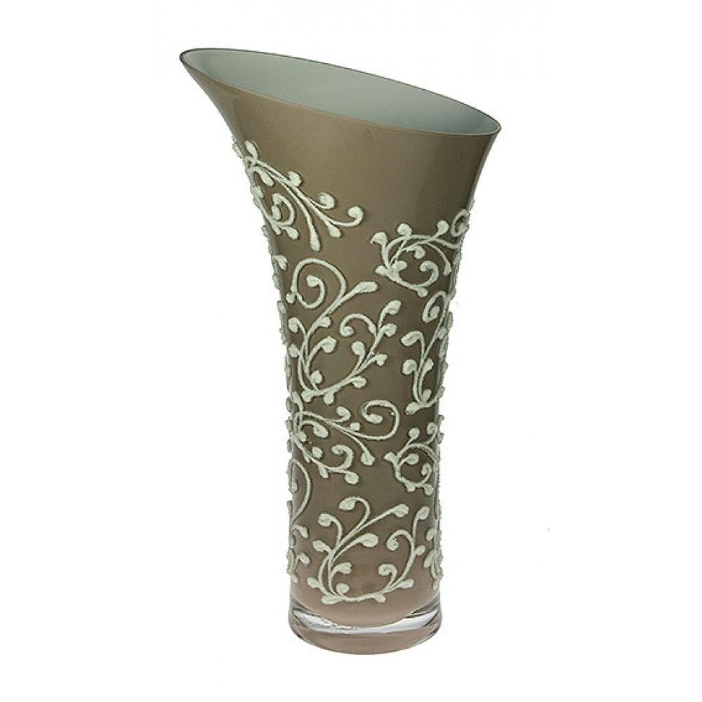 Стеклянная ваза Laccio
