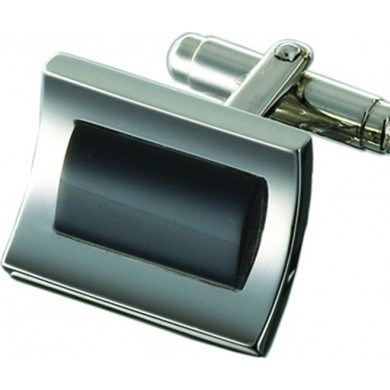 Запонки Mariner, черный оникс