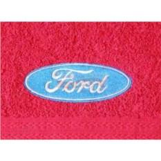 Махровое полотенце с логотипом Ford
