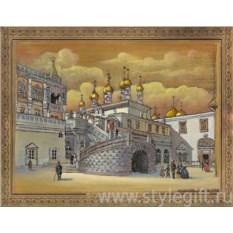 Панно-гравюра Боярская площадка