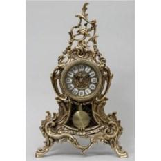 Оригинальные часы с маятником из бронзы Луис