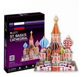 3d пазл Собор Василия Блаженного (Москва)