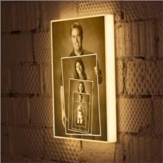 3D светильнике с Вашими семейными фотографиями