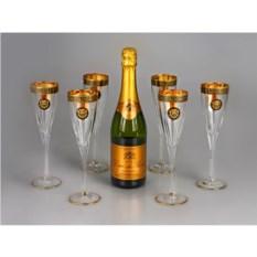 Подарочный набор бокалов для шампанского Lion