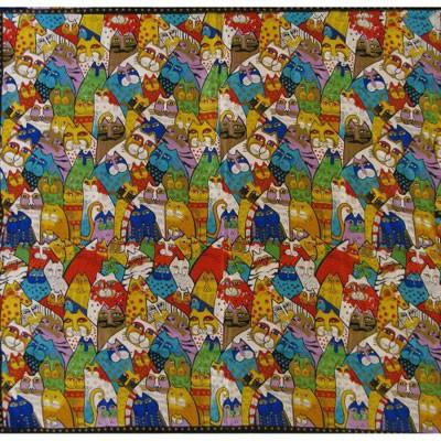 Платок «100 кошек» Марк Шагал