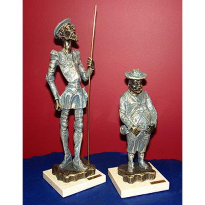 Скульптура «Дон Кихот и Санчо Пансо» 27,5 cm