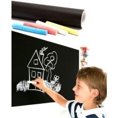 Стикер настенный для рисования мелом Back to school