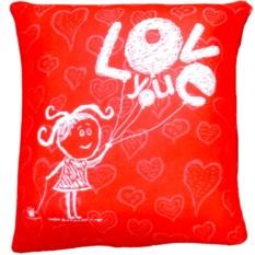 Подушка-антистресс Люблю тебя