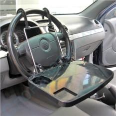 Автомобильный складывающийся столик в машину на руль