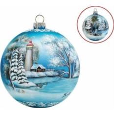 Новогоднее украшение Освещенная гавань Mister Christmas