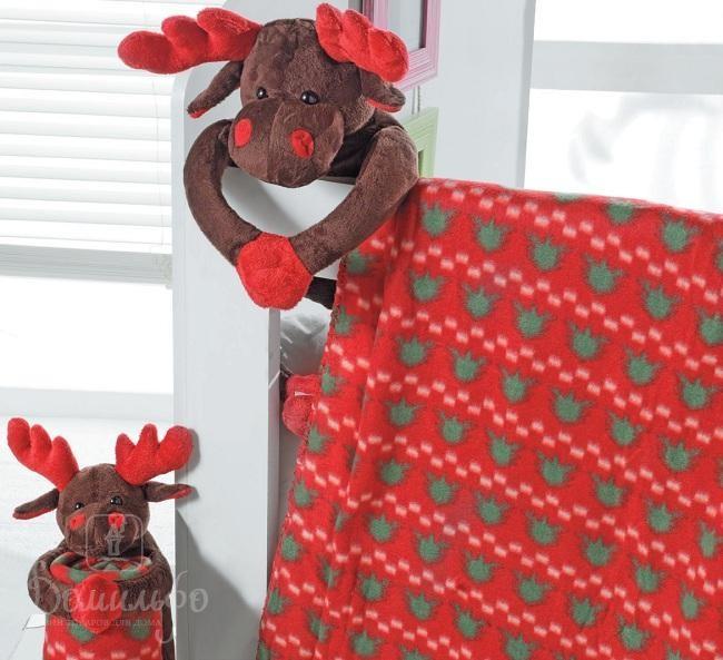 Плед детский с игрушкой Reindeer Small