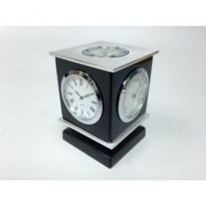 Настольный прибор: часы, термометр, гидрометр, компас