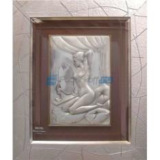 Картина «Девушка у зеркала»