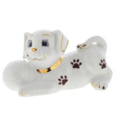 Декоративная фигурка Собачка с мячиком