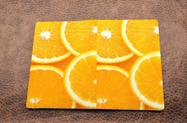 Обложка на паспорт «Апельсины»