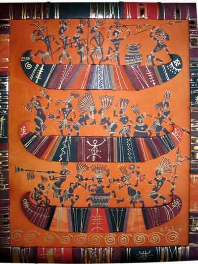Панно декоративное «Туземцы»