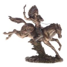 Фигурка Индеец на лошади