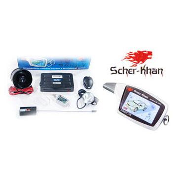 Автомобильная сигнализация Scher Khan V