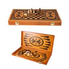 Настольная игра Нарды и шахматы, размер 58 х 29 см