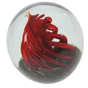 Шар стеклянный «Вулкан»