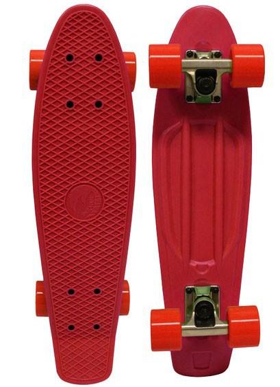 Скейтборд EcoBalance, красный