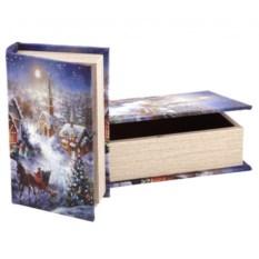 Набор из двух шкатулок-книг Polite Crafts&gifts