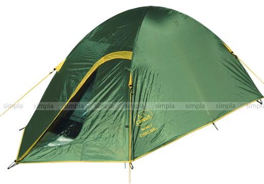 Палатка Campus Antibes 2, цвет зеленый
