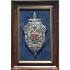 Картина из металла Герб ФСБ (малый)
