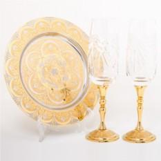 Набор для шампанского Романтический вечер