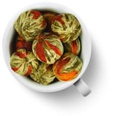 Связанный чай Бай Юй Лянь. Белый лотос благоденствия