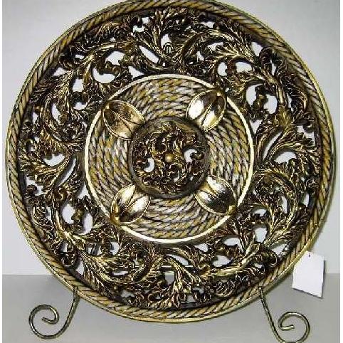 Тарелка декоративная «Павлин»