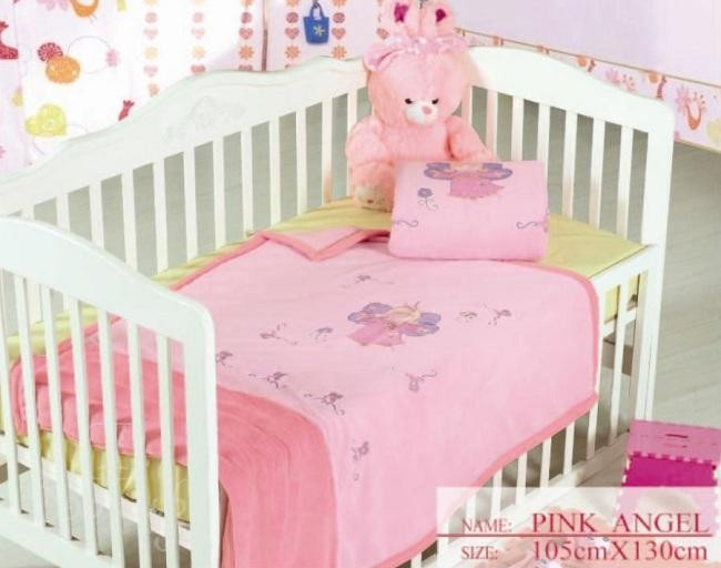 Плед детский Pink Angel