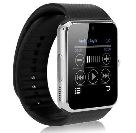 Смарт часы GT08 Colmi Smart Watch серебрянного цвета