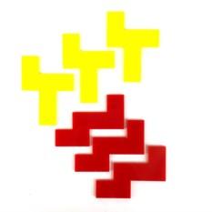 Пластиковая головоломка «Двухслойный пирог»
