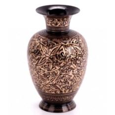 Темная латунная ваза