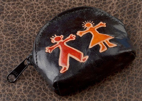 Монетница Socotra Друзья (чёрный)