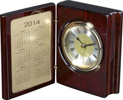 Часы настольные «Книга Времени» с рамкой для фото