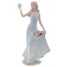 Фарфоровая статуэтка Девочка с птицей