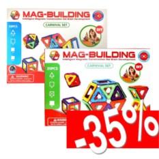 Набор магнитных конструкторов Mag-building 28 и 20 деталей