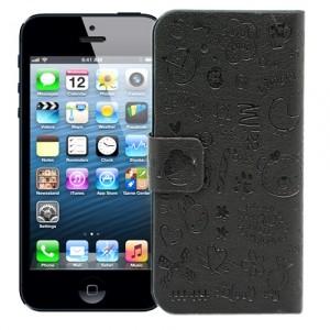 Чехол для iPhone 5 Dreams (черный)