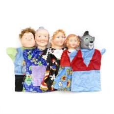 Домашний кукольный театр «Красная шапочка» с 5 персонажами