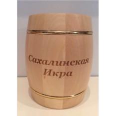 Сахалинская красная икра в эксклюзивном подарочном бочонке