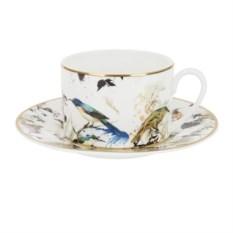 Чайная пара Roberto Cavalli Garden's Birds