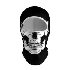 Балаклава с 3D принтом Череп
