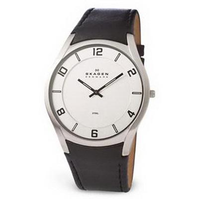 наручные часы Skagen Leather