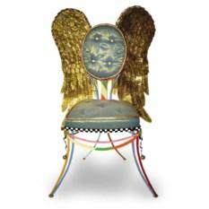 Дизайнерский стул ручной работы c крыльями Angel's Place