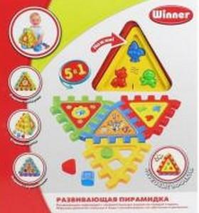 Развивающий игровой набор «Пирамидка»